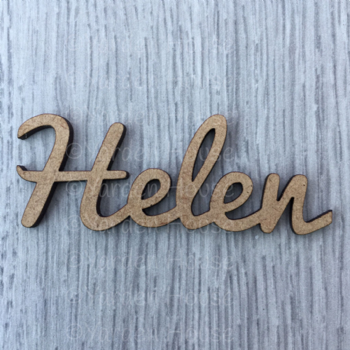 Place Setting personalised (No Burn Marks)